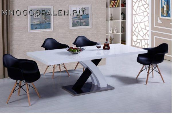 Стол DT75 купить в салоне-студии мебели Барселона mnogospalen.ru много спален мебель Италии классические современные