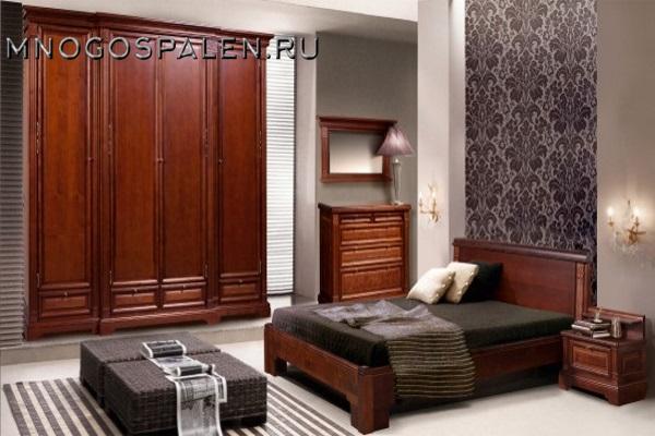 Спальня «Престиж» купить в салоне-студии мебели Барселона mnogospalen.ru много спален мебель Италии классические современные