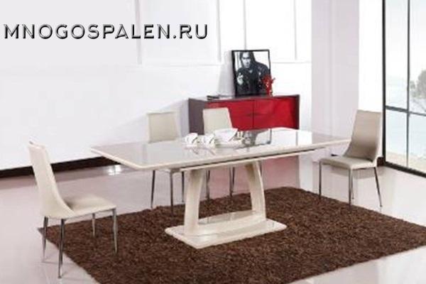 Стол T1139A купить в салоне-студии мебели Барселона mnogospalen.ru много спален мебель Италии классические современные