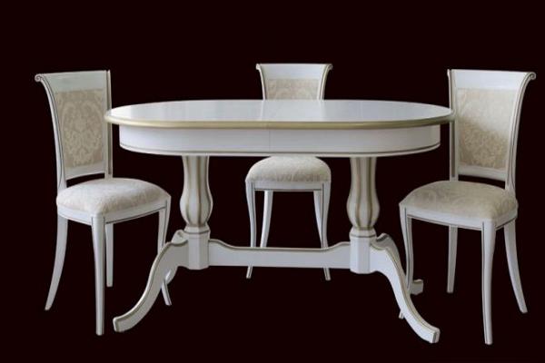 Стол Верди купить в салоне-студии мебели Барселона mnogospalen.ru много спален мебель Италии классические современные