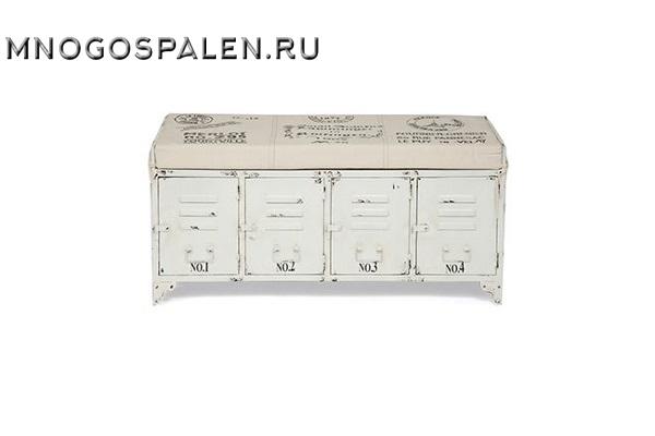 Банкетка Secret De Maison STEEL ( mod. M-14527 ) купить в салоне-студии мебели Барселона mnogospalen.ru много спален мебель Италии классические современные