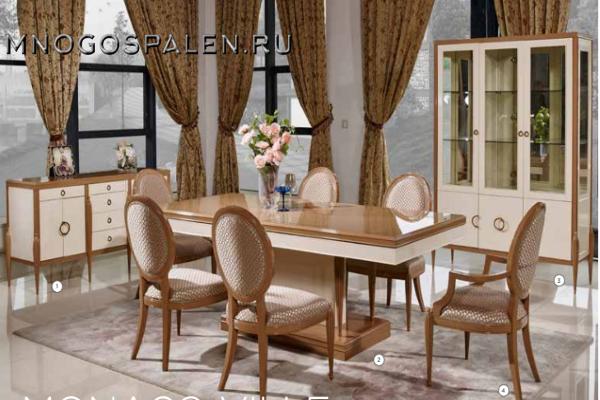 Гостиная Monaco Ville купить в салоне-студии мебели Барселона mnogospalen.ru много спален мебель Италии классические современные