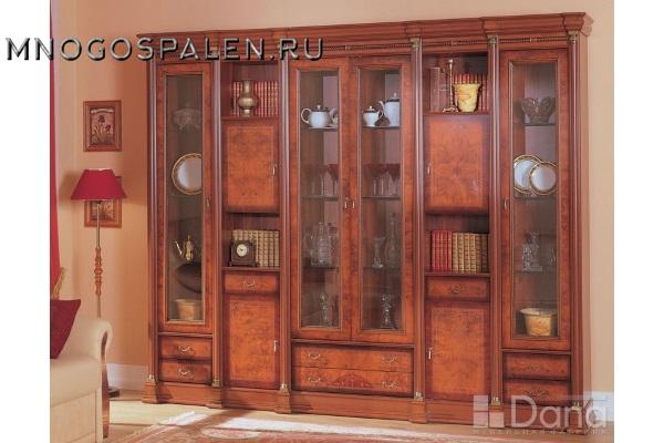 Гостиная Атланта №6 купить в салоне-студии мебели Барселона mnogospalen.ru много спален мебель Италии классические современные