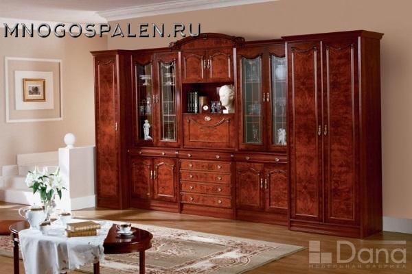 Композиция Империя №46+№62+№45 купить в салоне-студии мебели Барселона mnogospalen.ru много спален мебель Италии классические современные
