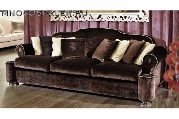 Диван Divano GM 29 купить в салоне-студии мебели Барселона mnogospalen.ru много спален мебель Италии классические современные