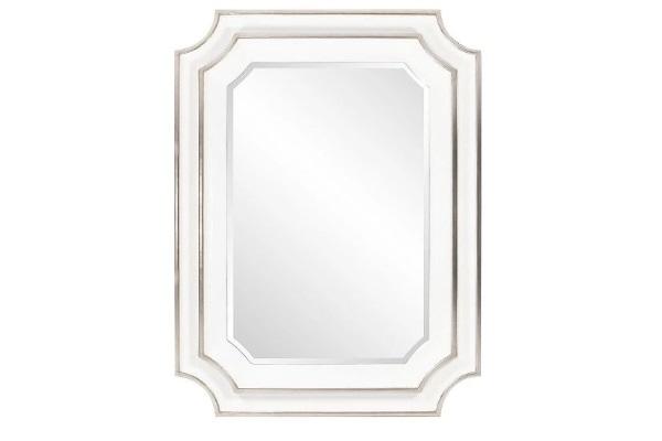 """Зеркало """"Кьяра"""" #white silver купить в салоне-студии мебели Барселона mnogospalen.ru много спален мебель Италии классические современные"""