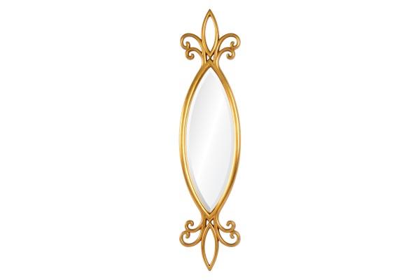 Зеркало Hillary А88041-2 золото купить в салоне-студии мебели Барселона mnogospalen.ru много спален мебель Италии классические современные